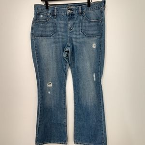 Old Navy Boot Cut Jeans size 16 short